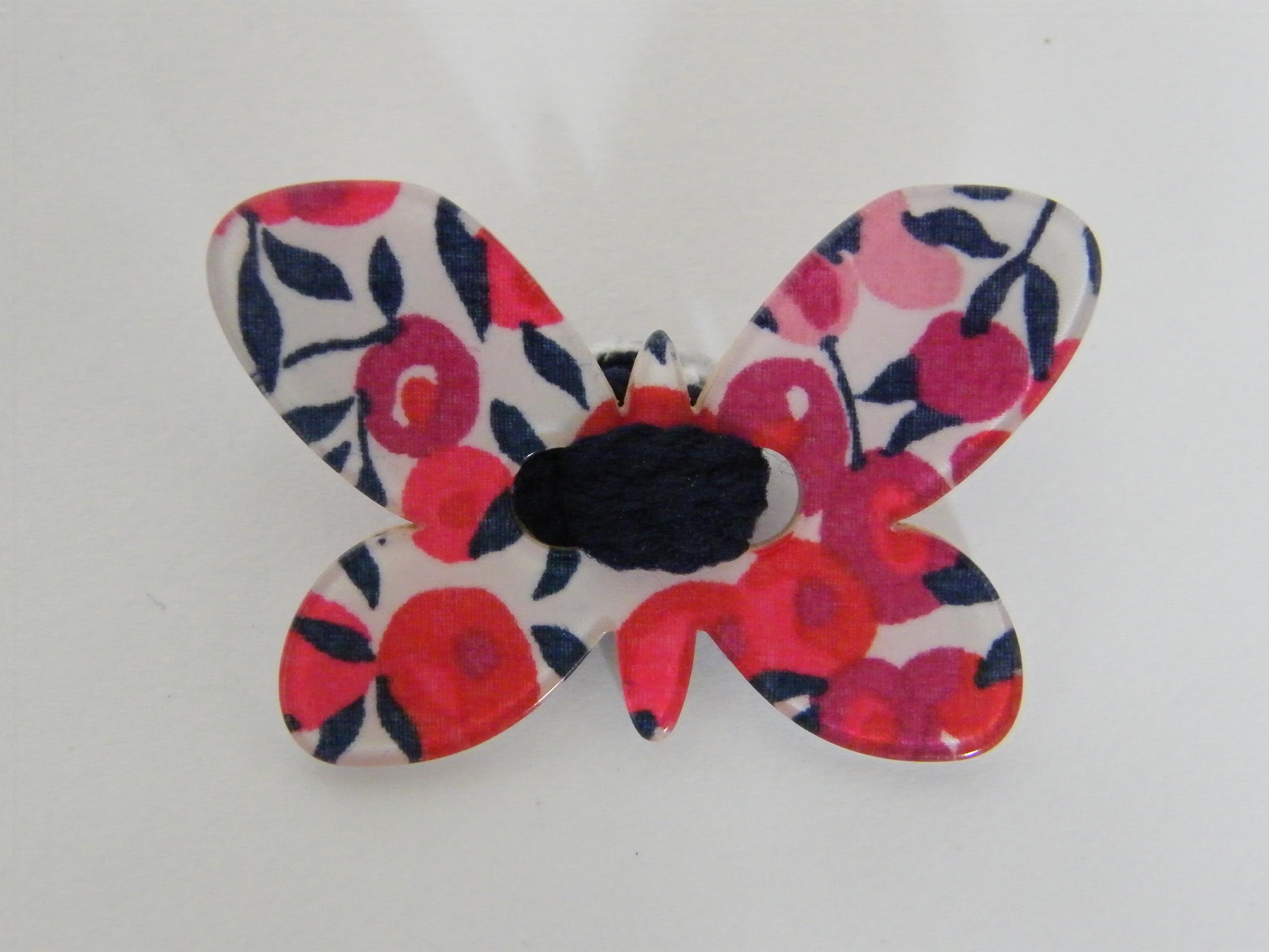 Elastiques Liberty papillon